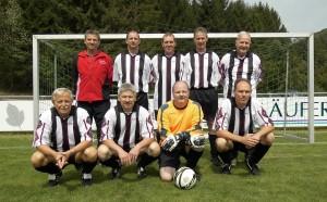 Stehend v.links: Dewein Karl, Montillon Horst, Kunz Thomas, Rapp Volker, Priester Jörg.                                                   Keesser Roland, Girke Bodo, Oerther Joachim, Weisenburger Jürgen.