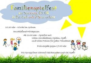 Plakat Spielfest
