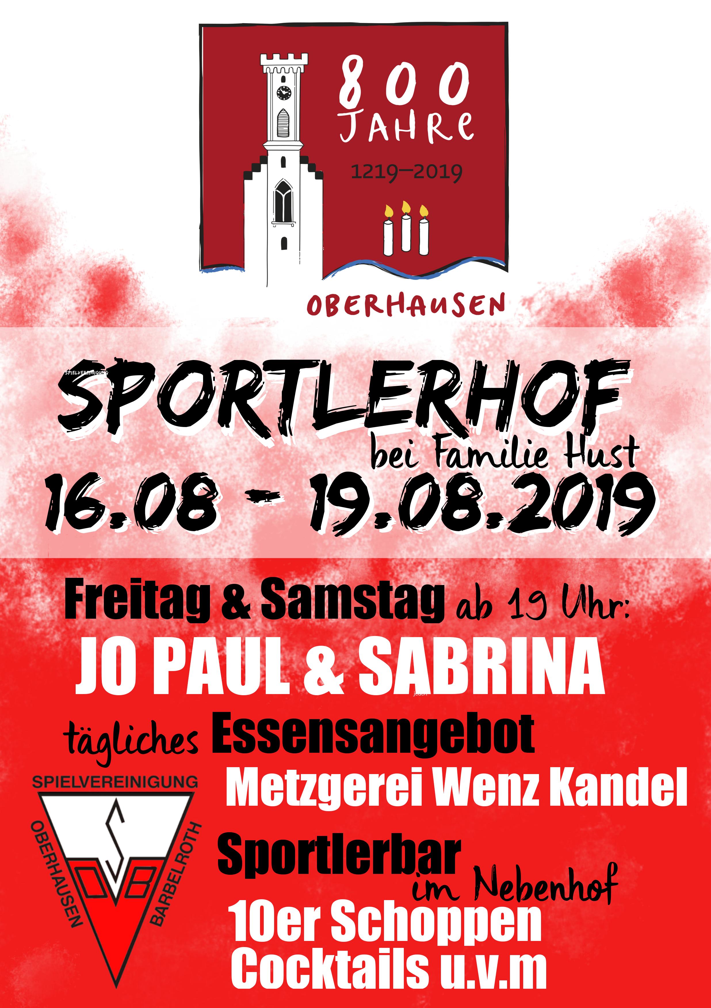 Spvgg Oberhausenbarbelroth 1919 Ev